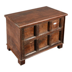 Sierra Living Concepts - Rustic Reclaimed Wood Little Gothic Storage End Table Mini Chest - Now you can chose end tables or night stands with extra storage capacity. Our Little Gothic Mini Chests are smart multi-use storage boxes that have dozens of uses.
