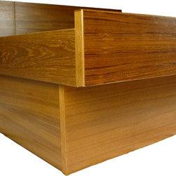 Mid Century Modern Teak Platform Bed - RetroPassion21