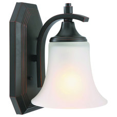 Design House Juneau 1-light Energy Star OIl Rubbed Bronze Wall Sconce | Overstoc
