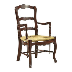 EuroLux Home - 2 French Country Dining Arm Chairs - Product Details