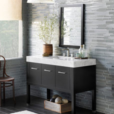 Eclectic Bathroom Vanities And Sink Consoles by Next Plumbing Supply