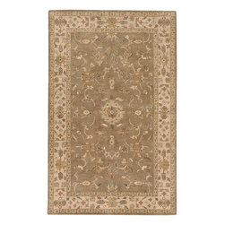 Surya - Surya CRN6006-811 Crowne Traditional Hand Tufted Wool Rug - With soft and beautiful traditional design details, the Crowne Collection creates a lasting centerpiece that is unparalleled in style and value. Completely hand tufted and hand finished from the finest wool in India, each rug is a radiant treasure that will embellish your home.
