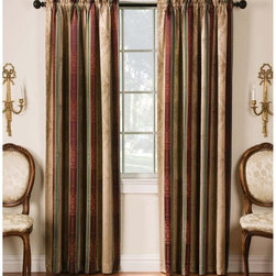 Arlee Home Fashions - Arlee Home Fashions Tuscan Stripe Jacquard Blackout Panel Pair - 29-40819MOC - Shop for Curtains and Drapes from Hayneedle.com! About Arlee Home FashionsArlee Home Fashions Inc. manufactures and markets household textiles like decorative pillows chair pads floor cushions curtains table linens and pet beds. The company was incorporated in 1976 and is based in New York New York.