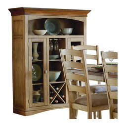 Homelegance - Homelegance Nash 48 Inch Curio with Wine Bottle Storage - This curio is a stylish ...