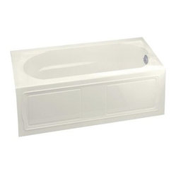 KOHLER K-1184-RA-96 Devonshire Bath with Integral Apron, Tile Flange and Right-H
