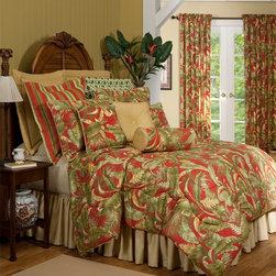 """Captiva"" Bedding by Thomasville at Home - Captiva Bedspreads by Thomasville at Home from Kellsson Home Linens"