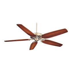 "Minka Aire - Minka Aire F539-BN Great Room Brushed Nickel 72"" Ceiling Fan with Wall Control - Features:"