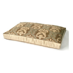 Dransfield and Ross - Granada Ikat Dog Bed, 20 X 26 X 4 H - Granada Ikat Dog Bed