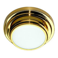 WPT Design Antuk-2-Gold Antuk II Gold Flush Mount