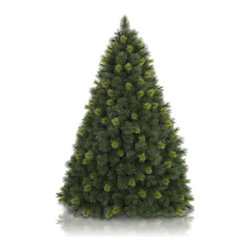 "Balsam Hill - 7.5' Balsam Hill® Scotch Pine Pre-Lit Artificial Christmas Tree - The 7.5 foot Scotch Pine artificial Christmas tree comes with beautiful clear LED lights to enhance its ""just cut from the forest"" look and now sports even more long, pine needles. Also included with this tree is a scratch-proof tree stand, soft cotton gloves for shaping the tree, storage bag, extra bulbs and fuses, and an on/off foot pedal for lights. As the best artificial Christmas tree manufacturer that is the #1 choice for set designers for TV shows such as ""Ellen"" and ""The Today Show"", in addition to being a recipient of the Good Housekeeping Seal of Approval, our trees are backed by a 5-year foliage warranty and a 3-year light warranty. Free shipping when you buy today!"