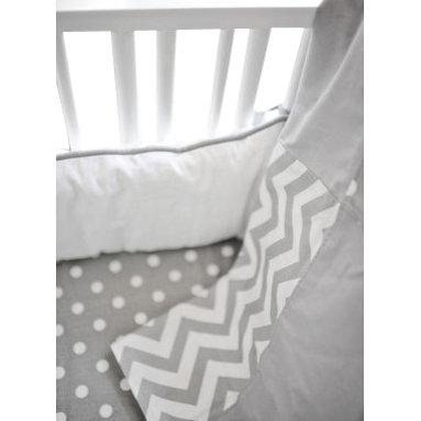 "New Arrivals Inc. - Gray Chevron Zig Zag Blanket - The Gray Chevron Zig Zag Blanket measures 36"" x 36""."