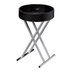 Sterling - Sterling 6043649 Felton Tray Table  Black - Sterling 6043649 Felton Tray Table  Black