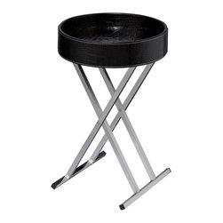 Sterling - Sterling 6043649 Felton Tray Table  Black - Sterling 6043649 Felton Tray Table  Black