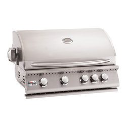 "Summerset Grills - 32"" Sizzler Stainless Steel Propane Gas Grill - #443 Stainless Steel Construction"