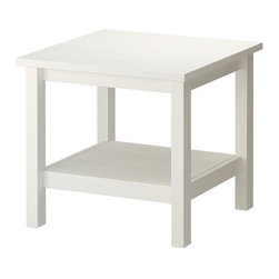 HEMNES Side table - Side table, white
