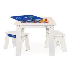P'kolino Chalk Table & Stools Set - P'kolino Chalk Table & Stools Set