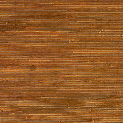 Walls Republic - Duo Jute Amber Grass Cloth Wallpaper, Double Roll - Duo jute wallpaper creates a warm, interesting backdrop for many different types of decor. Made from natural, sustainable materials, it is considered an environmentally friendly choice.
