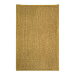 Safavieh - Safavieh Natural Fiber Casual Rug X-QS8-A511FN - Hand-woven with natural sea grass, this casual area rug is innately soft and durable. This densely woven rug will add a warm accent and feel to any home. The 100-percent Cotton canvas backing adds durability.