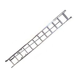 Werner D1324-2 24 ft. Aluminum Extension Ladder - Tall tasks are no problem with the Werner D1324-2 24 ft. Aluminum Extension Ladder. This ladder is built to last and features a durable construction of heavy duty aluminum and a smooth operating pulley system that makes for easy extension. Other features include mar-resistant end caps, interlocking 3-inch side rails, and slip-resistant 1-inch Traction-Tred D-rungs.About WernerWerner is an industry leader that has manufactured and distributed ladders and climbing equipment for over 60 years. Werner ladders are found on more trucks and job sites than all other brands combined. Each product offers a state-of-the-art design and manufacturing process, creating professional-grade products that are made to be utilized in the home as well as on the job site. Werner Co. products are built to meet or exceed all applicable American National Standards Institute (ANSI) and Occupational Safety and Health Administration (OSHA) code requirements.