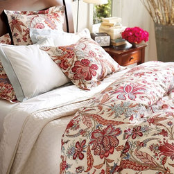 Deirdre Duvet Cover and Sham - Change out your bedding for a fresh duvet.