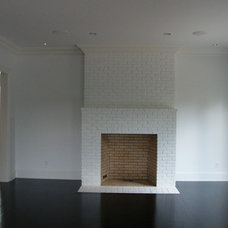 Modern Fireplaces by Design Builders & Remodeling Inc.