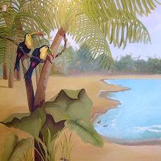 Tropical  by Joni Herman - Renaissance Studios, Muralist
