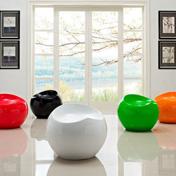 Plop Drop Stools (Set of 5) - Amazing and fun design of this Stools will perfect addition for any room! This set of stools are constructed from strong and durable ABS plastic polished in high gloss enamel.