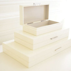 contemporary storage boxes by Layla Grayce