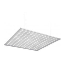 """Nimbus - Nimbus Modul Q 400 XL pendant light - The Modul Q 400 XL pendant light was designed and made by Nimbus. This ultra flat LED pendant fixture comes in suspended mounting on ceiling. Its diffuser panel is matt on both sides providing a wide beam mainly direct, 99%. Its structure is in silver and is suported by four stainless steel cables from the ceiling. Upon request this fixture is available in building material class B1 (difficult to ignite). Available with one build in Power 88W LED. IP 20.         Product Details: The Modul Q 400 XL pendant light  was designed and made by Nimbus. This ultra flat LED pendant fixture comes in suspended mounting on ceiling. Its diffuser panel is matt on both sides providing a wide beam mainly direct, 99%. Its structure is in silver and is suported by four stainless steel cables from the ceiling. Upon request this fixture is available in building material class B1 (difficult to ignite). Available with one build in Power 88W LED. IP 20. Details:                         Manufacturer:            NIMBUS                            Designer:            Nimbus                            Made in:            Germany                            Dimensions:                        Width: 39""""(990mm) X Depth: 0.3""""(8mm)             Structure: 1.9""""(48mm) X Cable Length: 59.1""""(1500mm)                                         Light bulb:                        1x88W build-in LED 3000K warm white                                         Material:            Glass, Steel"""