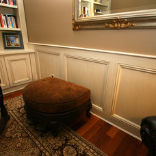 Traditional Home Office by Trim Team NJ