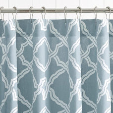 Contemporary Shower Curtains by Pottery Barn