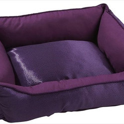 Dogit Cuddle Bed, Purple Glam