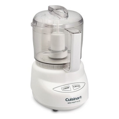 Cuisinart Mini-Prep Plus Food Processor, 3-Cup - I used to think I needed a full-size Cuisinart, but I've had my mini for eight years, and it has done everything I've ever needed when it comes to puréeing, chopping and even bringing together doughs.