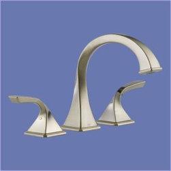 Brizo - Brizo - Virage: Roman Tub Trim - T67330-BN - Brushed Nickel Finish