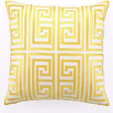 Modern Pillows by Rosenberry Rooms