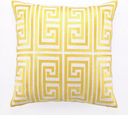 Modern Pillows by Rosenberry Rooms
