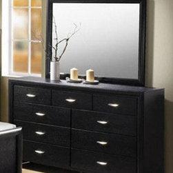 Acme Furniture - Hailee Wood Grain Black Dresser - 21475 - Hailee Collection Dresser