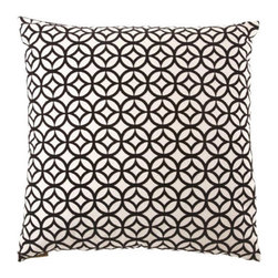 None - Prism Decorative Down Fill Throw Pillow - This fashionable prism pillow has a unique pattern that would grab a great deal of attention. With its modern design,this throw pillow would be a great addition to any living space.