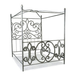 Corsican - Custom Madam-X bed, Queen - Corsican has been in business over 40 years. Their entire focus is making wrought iron furniture. Many of their skilled craftsman are second generation.
