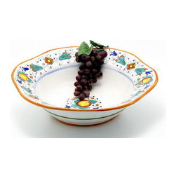 Artistica - Hand Made in Italy - FRUTTINA: Hexagonal Lg. Salad/Pasta Bowl - FRUTTINA  Collection
