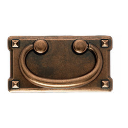 Top Knobs - Copper Ring Pulls, 3 in. - Top Knobs item number M236 is a beautifully finished copper ring pulls.