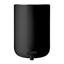 MENU - Pedal Bin, Black - A pedal bin simply makes sense in a bathroom. Best to keep trash covered and out of sight, right? This one offers a sleek style that's also utterly functional, which is exactly what you want when it comes to trash bin design.