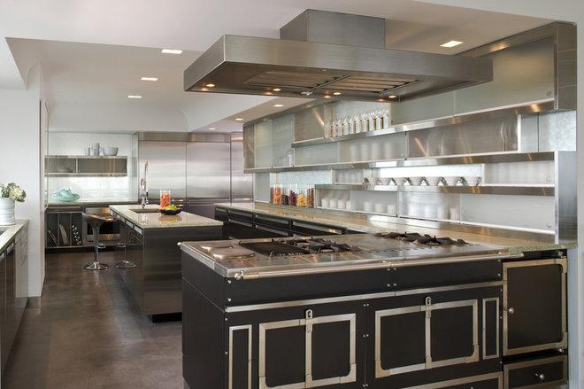 Industrial Kitchen by Elliott Kaufman