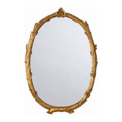 Arteriors Home - Arteriors Home Laurel Antiqued Gold Leaf Oval Mirror - Arteriors Home DD9002 - Arteriors Home DD9002 - Arteriors Home strives to offer unique accessories, furniture and lighting with timeless appeal and a nod to latest trends. Everything starts with the product and it must be unique.Designer: Barry Dixon