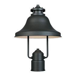 "Bayport-DS 11"" Wall Lantern-DS - 11 inches Dark Sky Post Lantern1 Edison base lamp,100 W. Max."