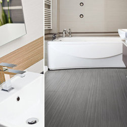 Eleganza Tiles Metropolis Glazed Porcelain Tile - This streamlined design with its unique linear pattern, can add a contemporary flair to any interior. A balance of modern and classic. Metropolis can be combined with other design materials, to give you a very stylish look.