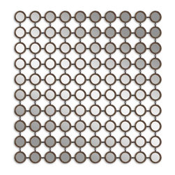Uttermost - Dinuba Antique Silver Champagne Mirror - This is like chainmail armor for your wall. Your medieval inner self will be thrilled with this highly reflective, elegant statement of antiquity. Now all you need is your sword. En garde!