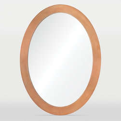 Ren-Wil - Ren-Wil Skane Oval Wall Mirror - 24W x 32H in. Multicolor - MT1441 - Shop for Mirrors from Hayneedle.com! A sleek and sophisticated addition to any space the Ren-Wil Skane Oval Wall Mirror - 24W x 32H in. works with contemporary or classic decor. Its minimalist metal frame has a classic oval shape and is finished in bright copper. The flat center mirror reflects your home's style perfectly. Includes hanging hardware for easy installation.About Ren-WilFor over 45 years Ren-Wil has been creating quality wall decor mirrors and lighting that enhances any space. The company's talented team of in-house artists travels the world to find the newest materials fashions and trends and then applies them to their work. The team also uses multi-media designs for many of their pieces. Ren-Wil is the leader in Alternative Wall Decor and is the market leader in Canada. They thrive on offering a fresh innovative product line and superior customer service.