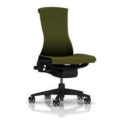 Herman Miller - Embody Chair, No Arms - The Embody Chair is the world's first health positive chair. Sitting in this baby will actually improve the health of your back and spine, make you more comfortable, and support every part of your body. Not bad for an office chair. Designed by Bill Stumpf and Jeff Weber, this chair is the current gold standard in the ergonomic furniture world.