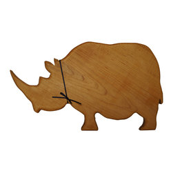 Shark Shade / Martin Carts - Rhinoceros Hard Maple Cutting Board - Made with Rock Hard Maple Planks